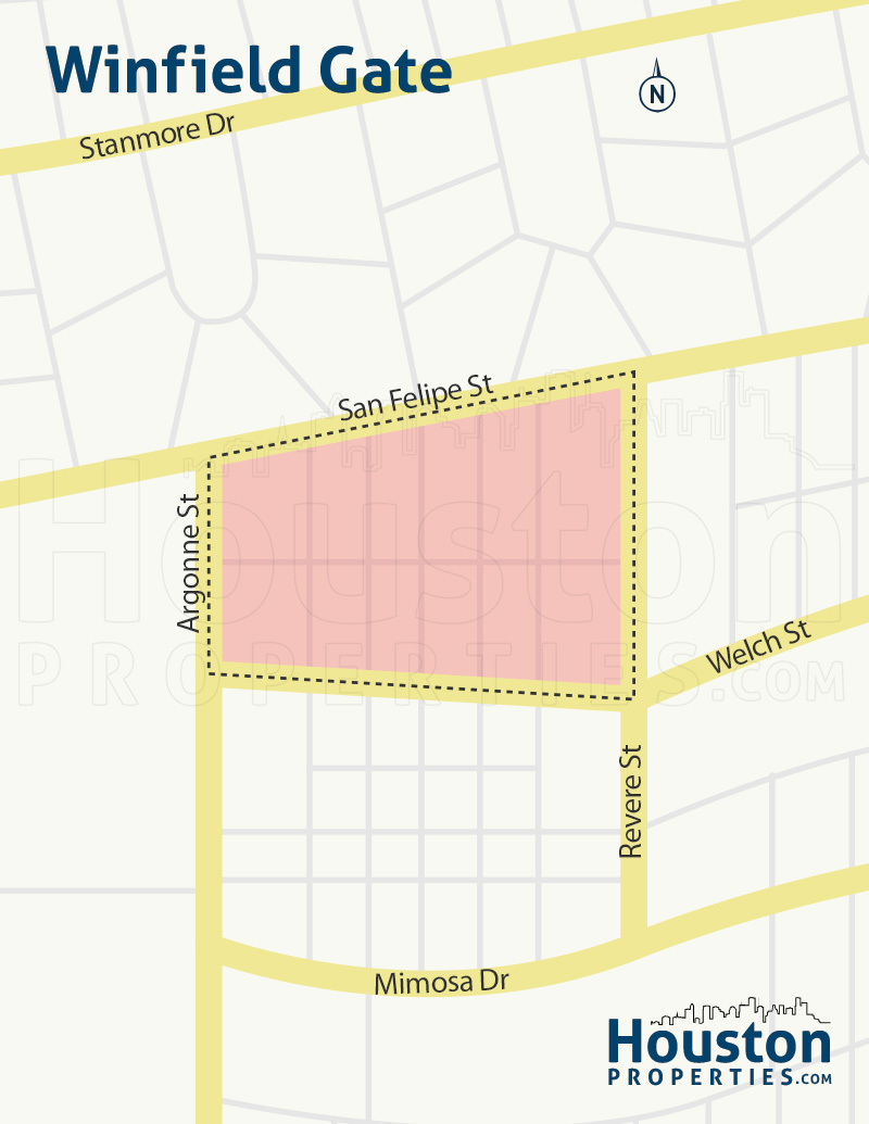 Winfield Gate Neighborhood Map