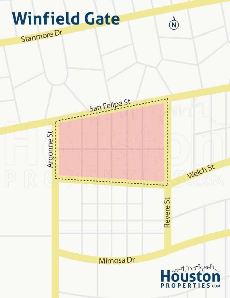 Winfield Gate Neighborhood Map