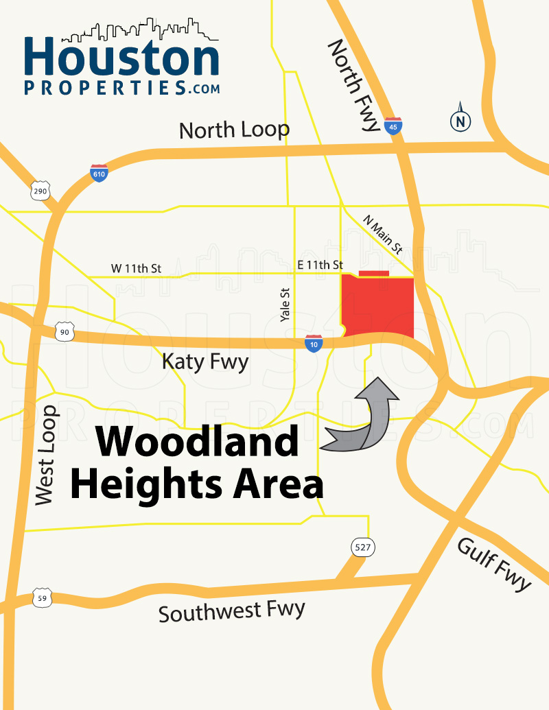 Woodland Heights Location